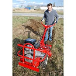Motoculteur 16cv hydraulique Barreto 1620B