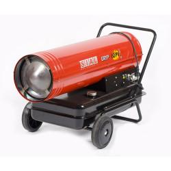 Canon à chaleur mazout 50KW
