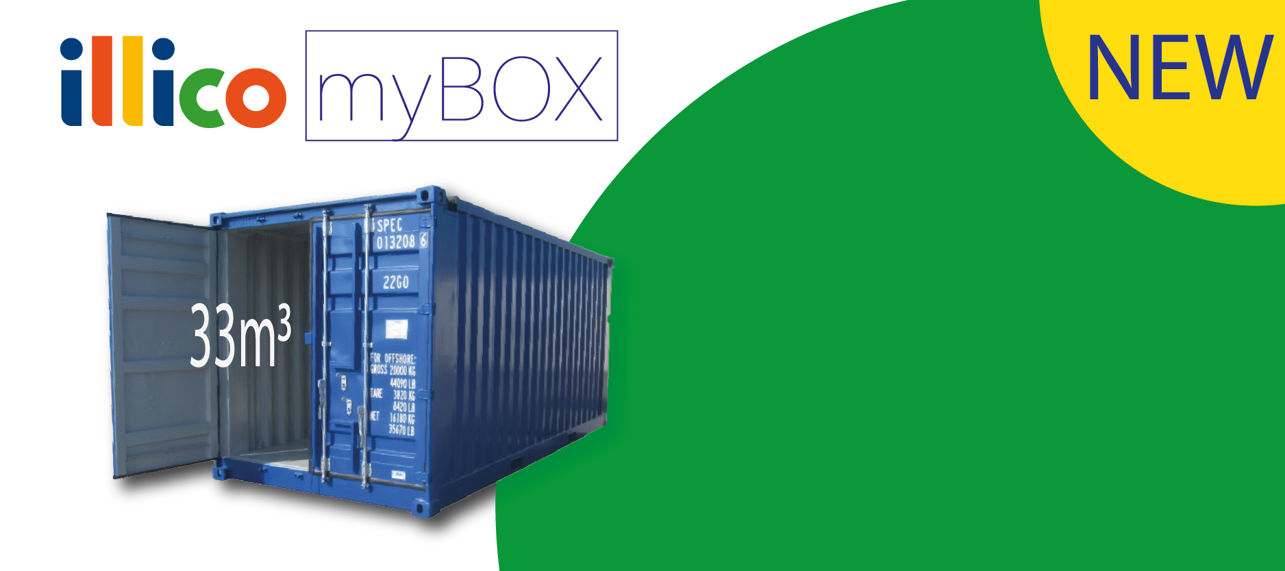 ILLICO myBOX  - Location de Conteneurs